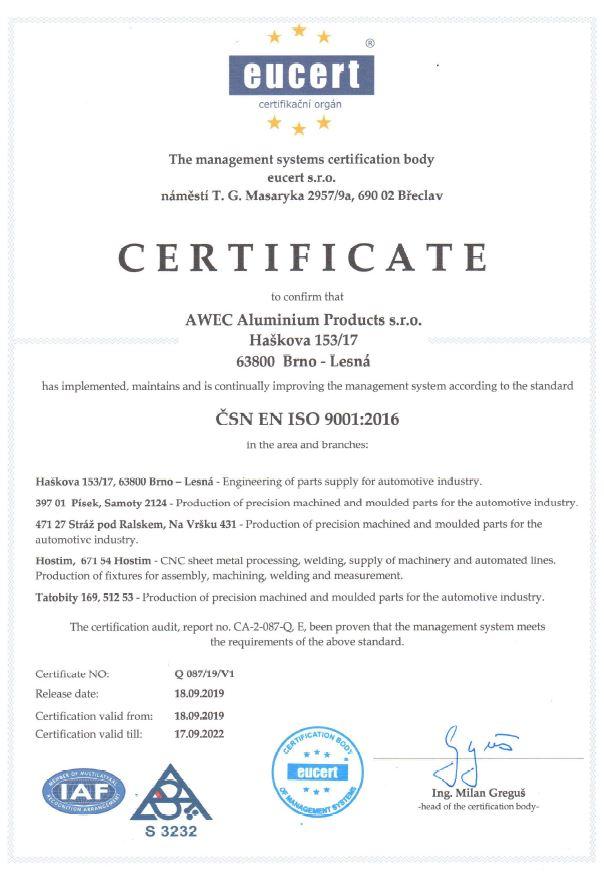 lightbox:ISO 9001:2016